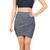 Grey Asymmetrical Skirt