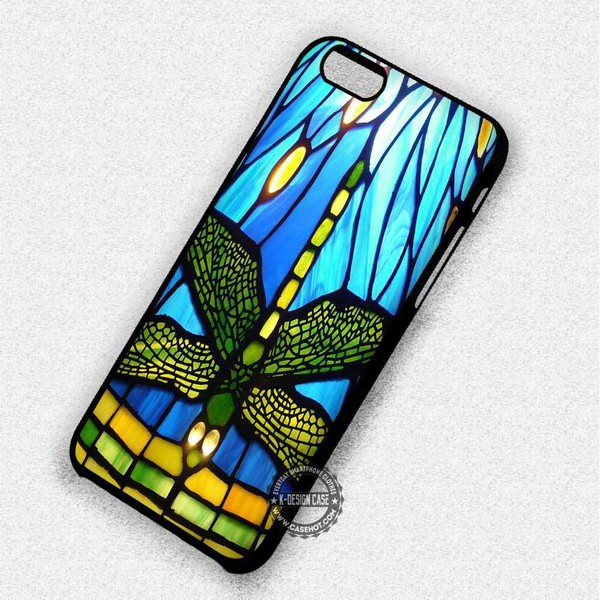 phone cover dragonfly stained glass iphone iphone case iphone cover iphone 5 case iphone 5s iphone 5c iphone 6 case iphone 6 plus iphone 6s case iphone 6s plus cases iphone 7 plus case iphone 7 case iphone se case