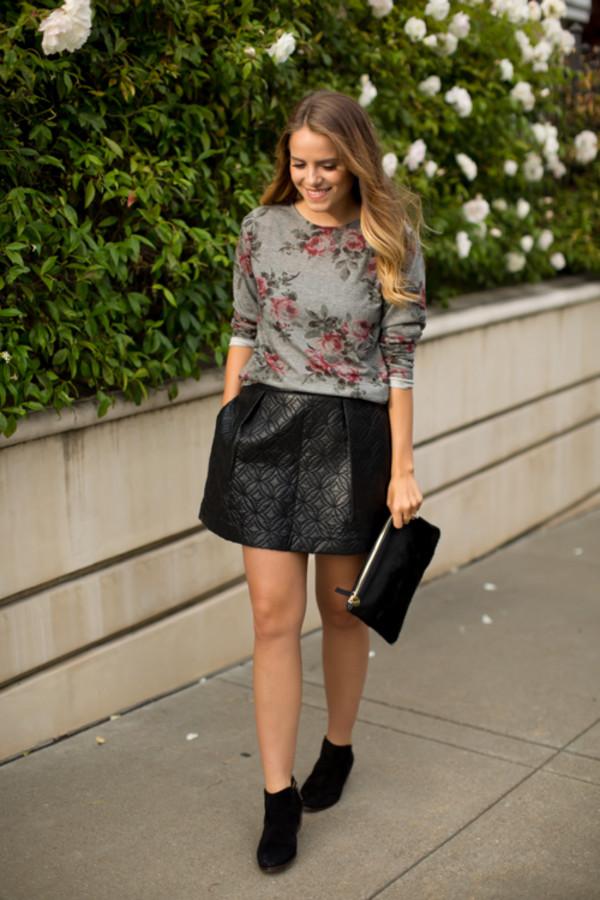 gal meets glam skirt shoes bag