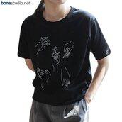 t-shirt,smoking hands tees,smoking,hand,fashion,style,grunge,tees,shirt