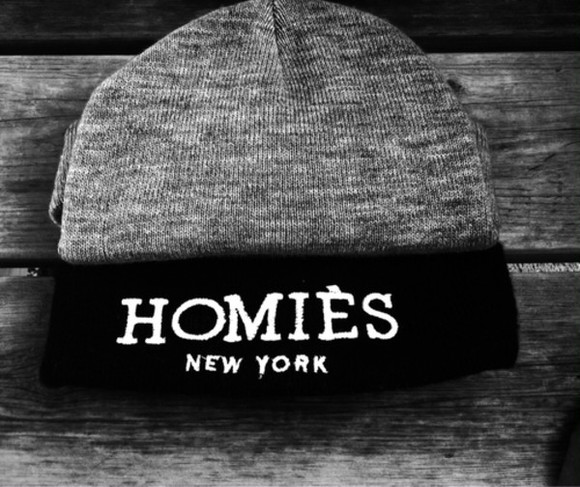 new york hat homies cute