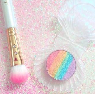 make-up rainbow