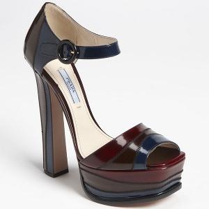 Prada Colorblock Platform Sandal - Sale
