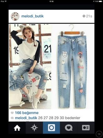 jeans aliexpress top