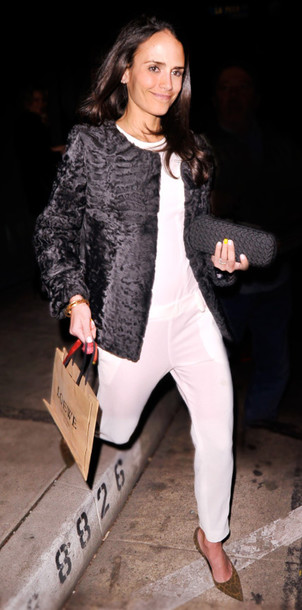 jacket jordana brewster bag