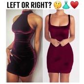 dress,velvet,wine red,burgundy,mini dress,sexy,sexy dress,high neck,christmas dress,turtleneck