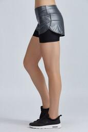 shorts,short shorts,workout shorts,metallic,workout
