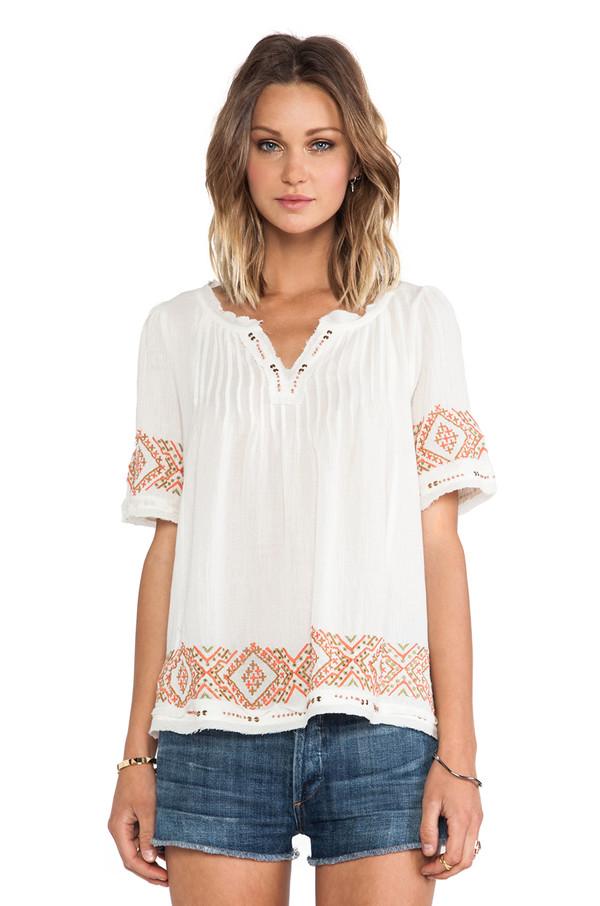 blouse velvet by graham & spencer