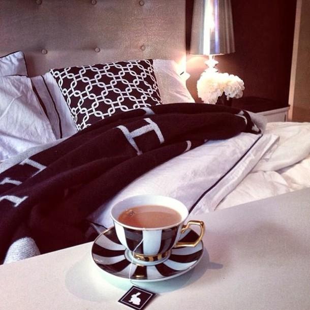 Tea Cup Tea Cup Coffee Coffee Black White Black And White