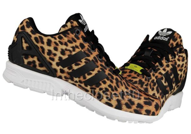 shoes leopard adidas