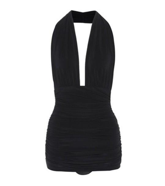 Norma Kamali black swimwear