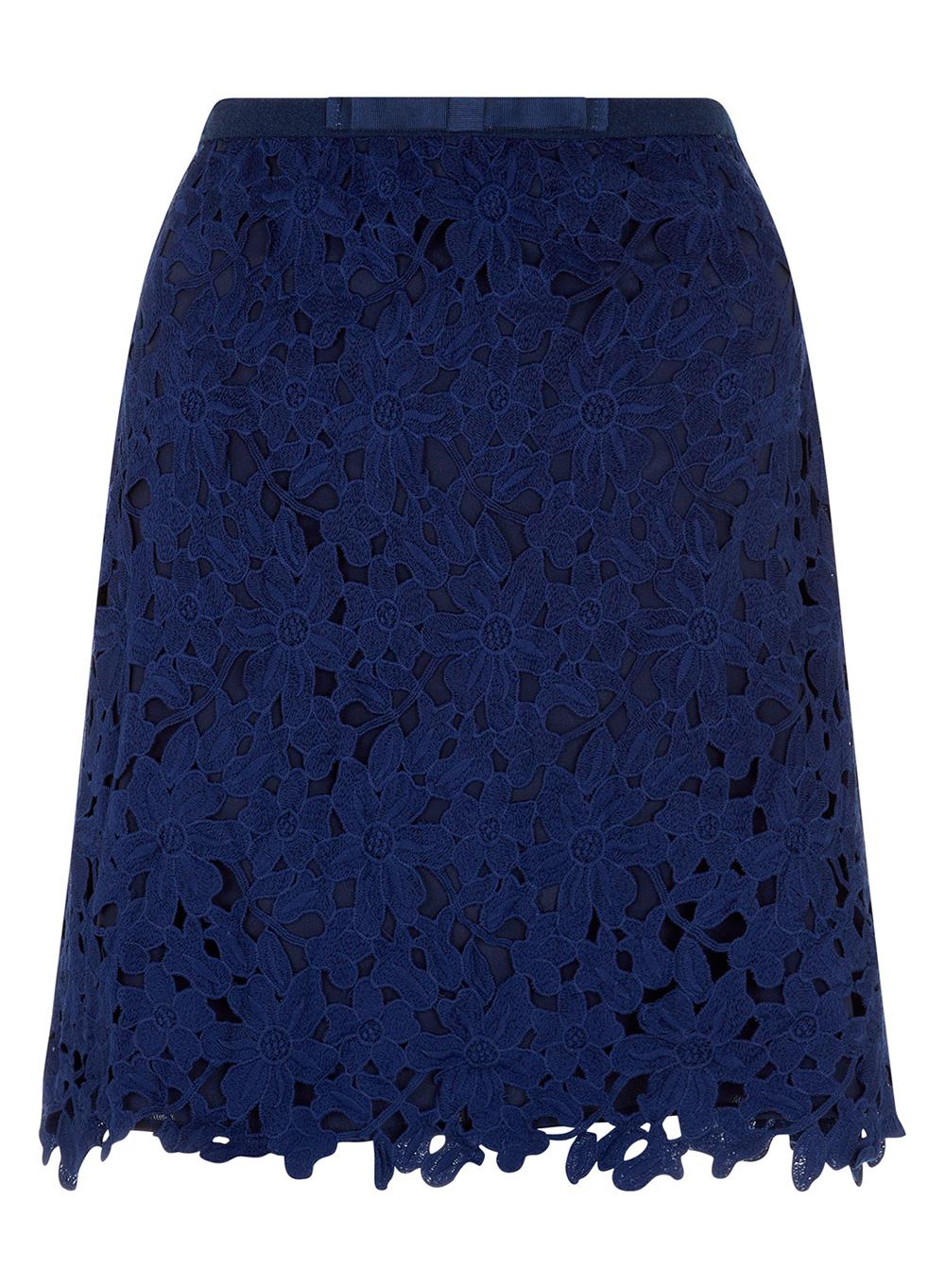 Darling Fleur Lace Skirt DA14-715 at darlingclothes.com