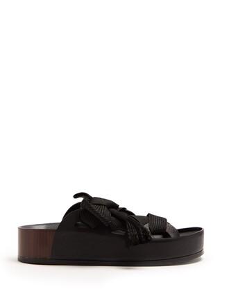 lace black shoes
