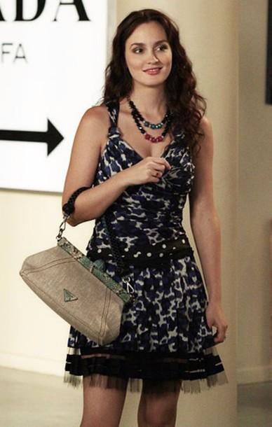 Dress  gossip girl  bl...
