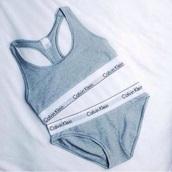 underwear,calvin klein underwear,grey,calvin klein sports bra sett