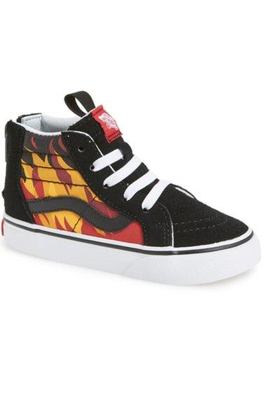 cefc784de77f37 Vans  Sk8-Hi Zip  Sneaker (Baby