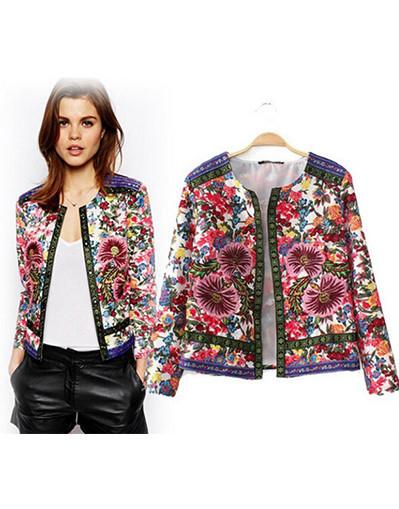 Vintage floral jacket