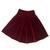 Velvet Skater Skirt – #NYLONshop