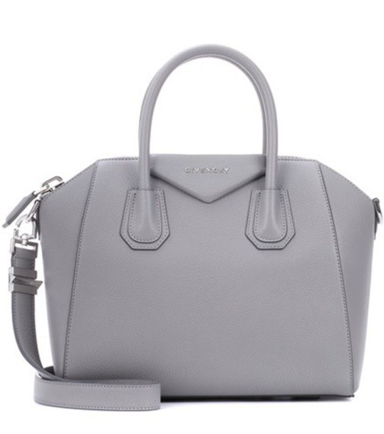 Givenchy leather grey bag