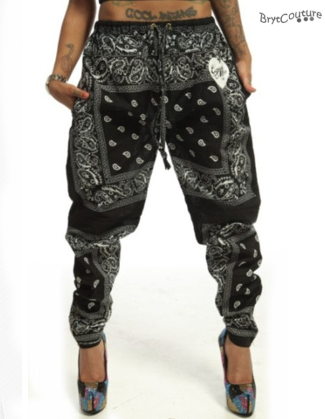 Innovative Empyre Remi Black Speckle Jogger Pants