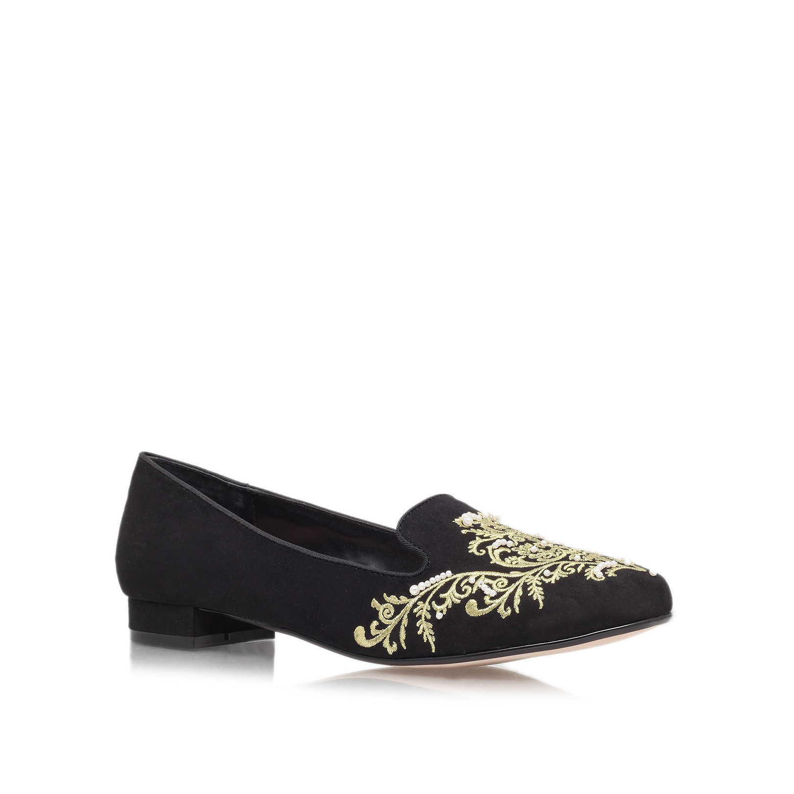 Kurt Geiger | LIKE Black Low Heel Loafers by Carvela Kurt Geiger