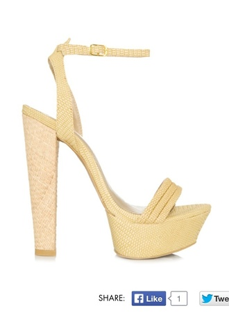 summer outfits shoes yellow shoes high heels sandals platform shoes platform high heel beauty fashion shopping wedges