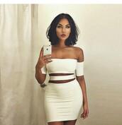 dress,white dress,natalie halcro