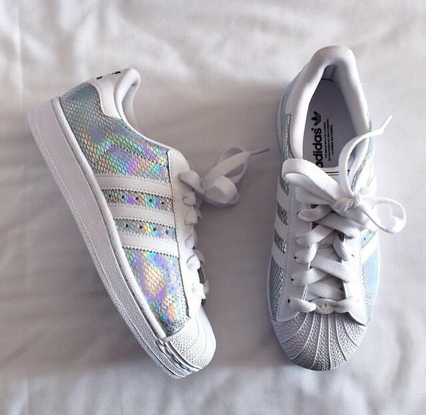 Adidas Originals Superstar 2 W Plata Blanco Sneakers Mujer Casual Zapatos Sneakers Blanco 923ae6