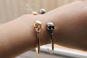 jewels skull skulls bracelet bracelets bershka zara gold silver golden tumblr serene boho found on tumblr