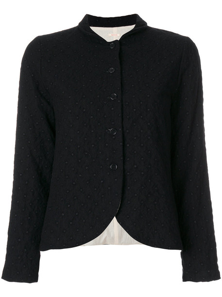 Apuntob jacket women black wool