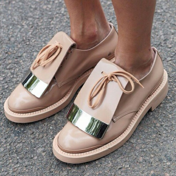 shoes formal shoes vintage shoes for her sneakers leather beige shoes