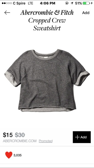 top crop tops short sleeve grey sweatshirt summer winter outfits fall outfits spring grey top cute top spring clothes