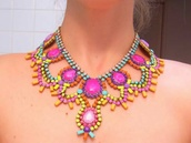 jewels,necklace,bright,jewelry