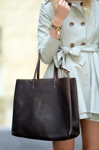 bag black bag tote bag coat cozy