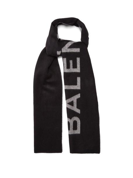 Balenciaga scarf black