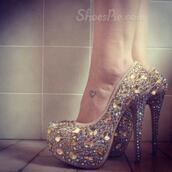 shoes,cute,jewelry,pink,heels,high heels,glitters,tumblr,chanel,victoria's secret
