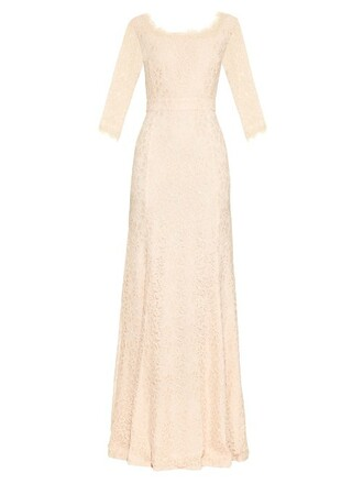 gown nude dress