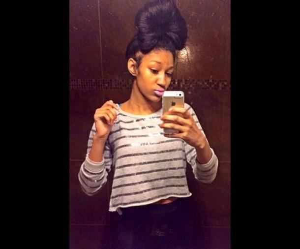 blouse long sleeves sparkle glitter stripes sweater sweatshirt