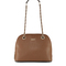 Saffiano leather rounded satchel - dkny