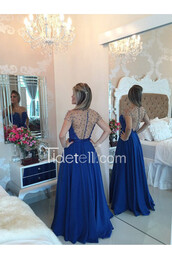 dress,illusion,sheer back,beaded prom dress,sexy prom dress,see through,party guest dress,long prom dress