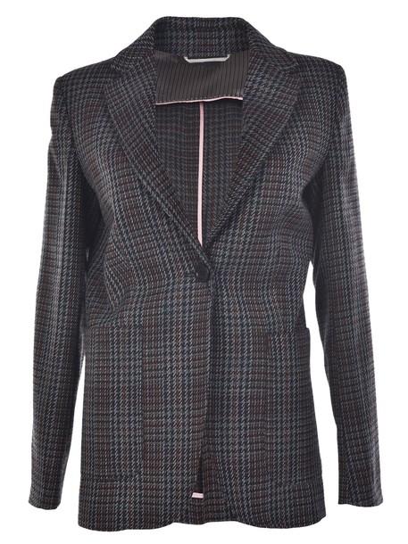 Weekend by MaxMara blazer houndstooth jacket