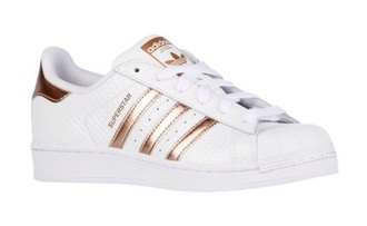 shorts white and copper adidas superstars shoes adidas low top sneakers gold white sneakers rose gold superstar original