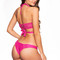 Frankies bikinis malia bottom - raspberry