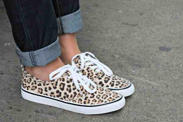 shoes leopard print cute leopard print shoes white shoe lace