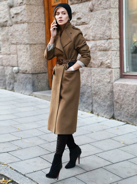 coat brown coat
