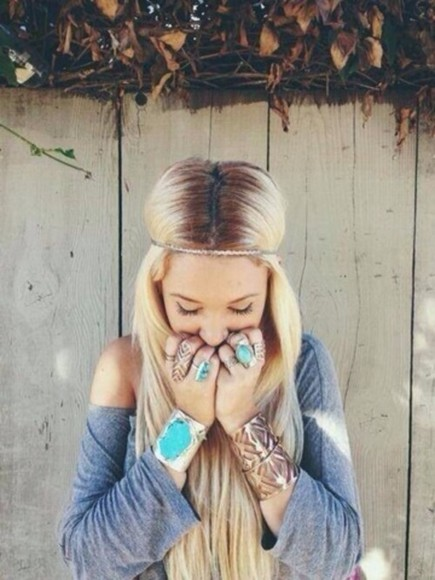 jewels accessories bijoux vintage accessories blonde hair blonde girl