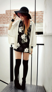 jacket,cardigan,shrug,dress,mini,floral,fringes,le happy,white jacket,black jacket,brown jacket,grey jacket