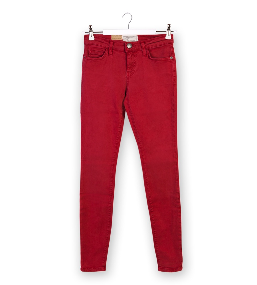 Current elliott red the ankle skinny jeans