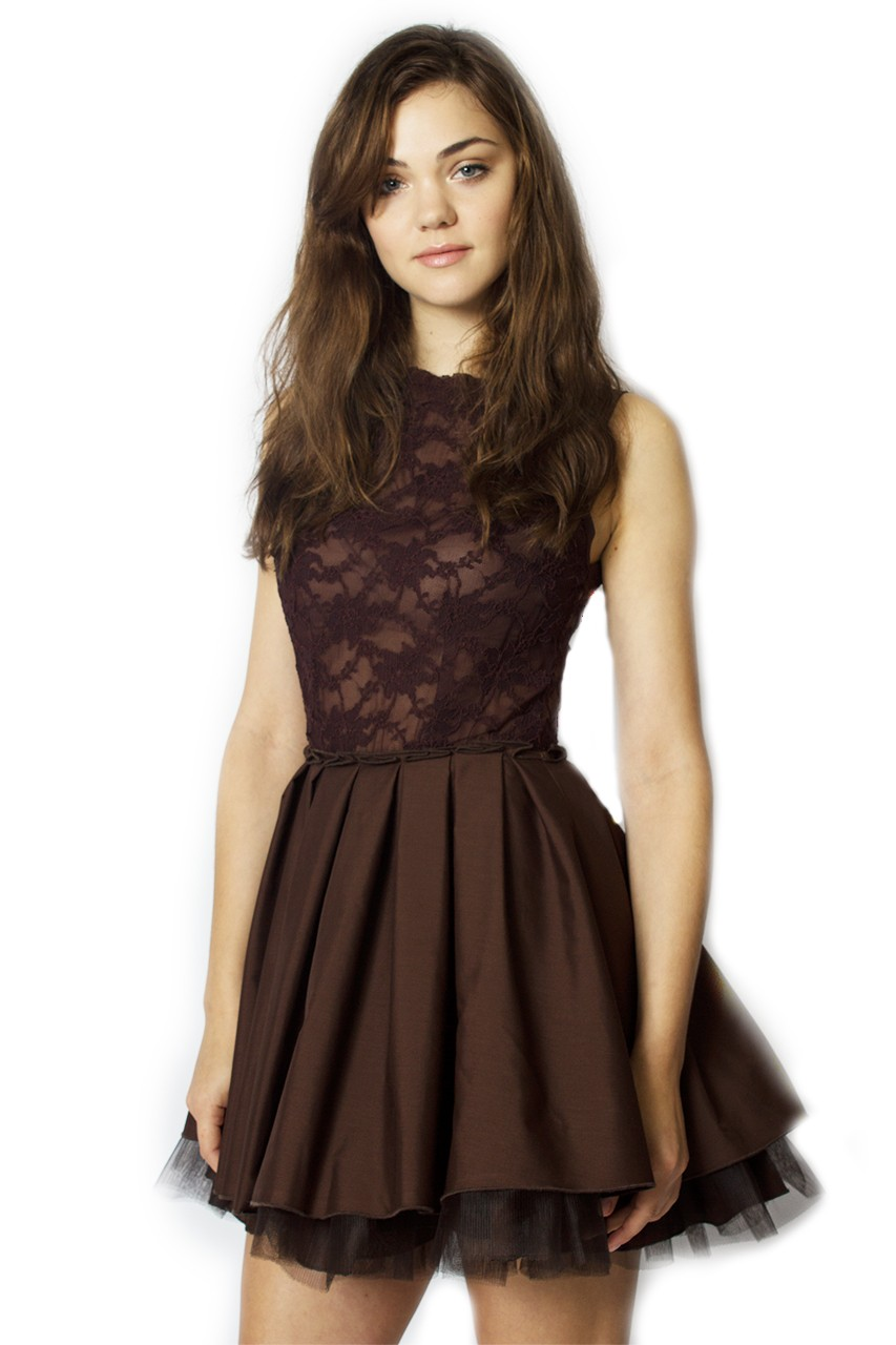Buy Audrey Chocolate Dress Jones And Jones Fashion Dresses
