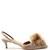 Powder Puff velvet kitten-heel pumps